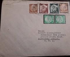 O) 1935 GERMANY, PRES. VON HINDEMBURG, GERMANIA WELCOMING HOME THE SAAR - RETURN, TO USA - Germany