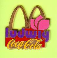 Gros Pin's Mac Do McDonald's Coca-Cola Ludwig Fleur - #411 - McDonald's