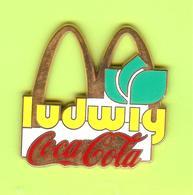 Gros Pin's Mac Do McDonald's Coca-Cola Ludwig Fleur - #779 - McDonald's