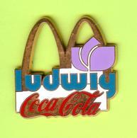 Gros Pin's Mac Do McDonald's Coca-Cola Ludwig Fleur - #839 - McDonald's