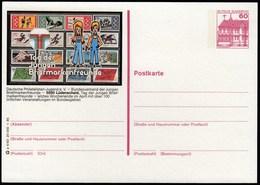 Germany Ludenscheid 1985 / Tag Der Jungen Briefmarkenfreunde / Youth Philatelic Day / Postal Stationery / Sport Stamps - Philately & Coins