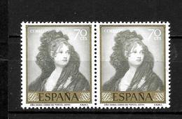 LOTE 1998  ///  (CS 015) ESPAÑA  EDIFIL Nº: 1214 EN PAREJA    ¡¡¡ OFERTA - LIQUIDATION !!! JE LIQUIDE !!! - 1951-60 Nuevos & Fijasellos