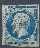 N°14 VARIETE ET OBLITERATION. - 1852 Luigi-Napoleone