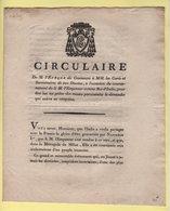 Circulaire - Ralliement De L'Italie A La France - 6 Juin 1805 - 17 Prairial An 13 - Eveque De Coutances - Documents Historiques