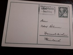 O) 1935 GERMANY, LOWER SAXONY - COSTUMES - SC B72, POSTAL STATIONERY, XF - Germany