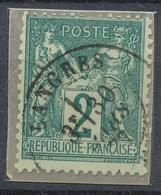 N°74 NUAN?CE  ET OBLITERATION. - 1876-1898 Sage (Tipo II)