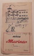 SOLLER LA PLAYA HOTEL MARINA MALLORCA BELLEZAS DEPLIANT TURÍSTICO ESPANA ISLAS BALEARES - Espagne