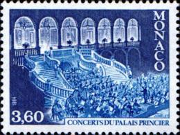 Monaco Poste N** Yv:1429 Mi 1633 Yv:1,9 Euro Concerts Du Palais Princier (Thème) - Musique