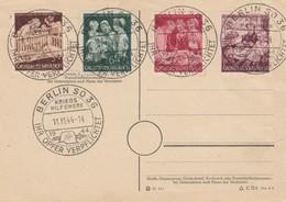 Blanko Sonderstempelbeleg 1944: Berlin: Ihr Opfer Verpflichtet, Kriegshilfswerk - Germany
