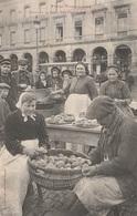 CPA - La Marchande De Frites - Le Capitole - Toulouse 1907 - Marchands Ambulants