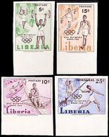 ** Liberia - 1960 - Olympic Games 1960 - Mi. 552-5B - Sommer 1960: Rom