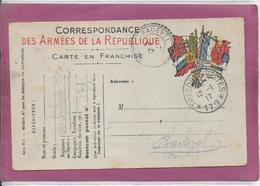 CORRESPONDANCE  DES ARMEES DE LA REPUBLIQUE - Postmark Collection (Covers)