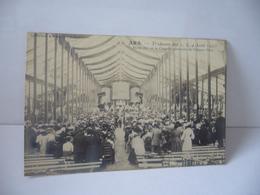 ARS 01 AIN  TRIDUUM DES 2.3.4. AOÛT 1905 MESSE DITE A LA CHAPELLE PROVISOIRE DU CHÂTEAU D'ARS CPA - Ars-sur-Formans