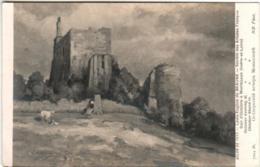 31ksp 1510 CPA - SALON DE 1913 - E. BEAUNE - SOIR D'OCTOBRE A MONTBAZON - Peintures & Tableaux