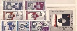 1966  SPACE    7v.+ S/S -MNH   BULGARIA  / Bulgarie - Bulgarie