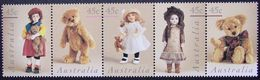 Australia 1997 MiNr. 1636 - 1640  Australien Dolls And Bears  5v    MNH *   5.50 € - Poupées
