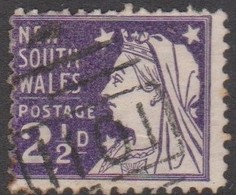 Australia-New South Wales ASC 72  1899 2.5 D Violet, Used - 1850-1906 New South Wales