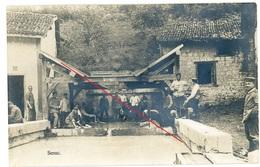 RPPC  - Senuc Ardennes - Soldatenleben - Wäsche Waschen - Carte Photo Allemande 1914-1918 WWI - Guerre 1914-18