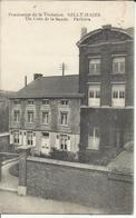 Gilly-Haies Pensionnat De La Visitation, Un Coin De La Façade. Parloirs. Oblitération De Fortune 1919 Jemeppe-sur-Sambre - Charleroi