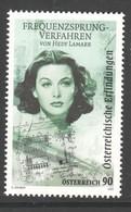 """Österreich 2020: """"Frequenzsprungverfahren-Hedy Lamarr"""" Postfrisch (s. Foto) - 2011-... Nuovi & Linguelle"""