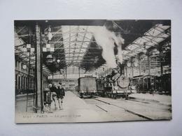 CPA  75 PARIS : Gare De Lyon - Scène Animée - Metro, Stations