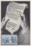 Carte  Maximum  1er  Jour   ANDORRE   Fondation  D' ANDORRE   1963 - Maximumkarten (MC)