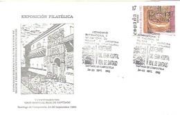 MATASELLOS   1993  SANTIAGO DE COMPOSTELA - 1931-Hoy: 2ª República - ... Juan Carlos I