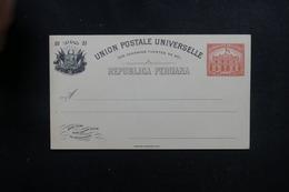 PEROU - Entier Postal De 1897 Non Circulé- L 53393 - Pérou