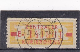DDR, Dienst: ZKD Nr. 18 I E, Gest, (T 14487) - DDR
