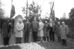 GEMEAUX COTE D'OR CEREMONIE AUX MONUMENTS AUX MORTS PHOTO ORIGINALE 15 X 10 CM - Plaatsen