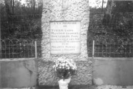 GEMEAUX COTE D'OR CEREMONIE AUX MONUMENTS AUX MORTS PHOTO ORIGINALE 15 X 10 CM - Lieux