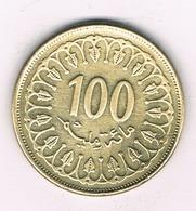 100 MILLIEMES  1997 TUNESIE /1236/ - Tunisie