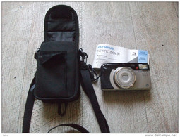 Appareil Photo Ancien Olympus Newpic Lens Zoom 90 Pochette Mode D'emploi - Appareils Photo