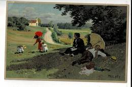 Ill 296 - Paul Hey Signierte Künstlerkarte Color Verlag Meißner & Buch In Der Sommerfrische Serie 1517 - Hey, Paul