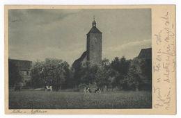 Kelbra Kyffhäuser Klostergarten Kirche Mansfeld-Südharz Postkarte Ansichtskarte - Kelbra