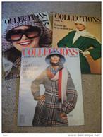 Lot 3 Magazine Collections Hiver Printemps 1974 Revue  N°204 205 206 Mode - Mode