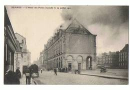 35 - RENNES - Hôtel Des Postes Incendié Le 29 Juillet 1911 - 238 - Rennes