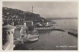 CARTOLINA - TRIESTE - BARCAROLA - Trieste