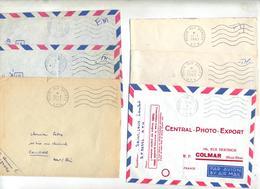 Lot 18 Lettres Franchise Flamme Muette Poste Aux Armees AFN - Marcophilie (Lettres)