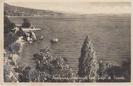 CARTOLINA - TRIESTE - PANORAME INCANTEVOLE DEL GOLFO DI TRIESTE - VIAGGIATA 1949 - Trieste