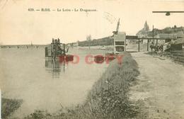 SL 41 BLOIS. La Dragueuse Sur La Loire 1936 - Blois