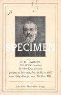 E. Br. Emilius - Bultinck Cornelius - Beernem - Beernem