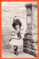 THU025 La Journée De SUZETTE (6) Fillette Boite Aux Lettres 1904 à SERCOMANENS Route Alby Gaillac / BERGERET - Post
