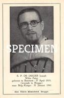 E. P. De Jaeger Joseph - Witte Pater - Beernem - Beernem