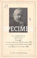 E.P. Emmanuel - Roets Viktor - Beernem - Beernem