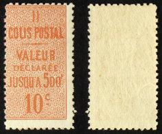 COLIS POSTAUX N° 6  Neuf N** TB Cote 55€ - Parcel Post