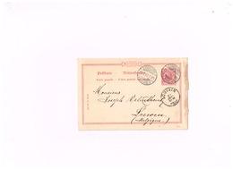 Entier Postal à 10 Pfennig.Expédié De Limburg (Lahn) à Louvain (Belgique) - Enteros Postales