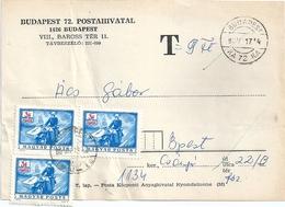 B7191 Hungary Postal History Postage Due - Postage Due
