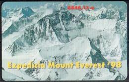 Phone Card Mt. Everest.  USED. - Sport