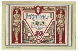 Deutschland Notgeld 50 Pfennig Mehl979 NORENBERG /46M/ - [11] Emissions Locales